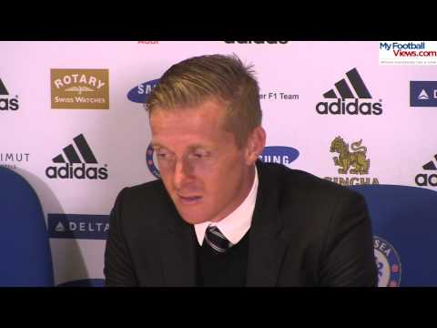 Garry Monk MFV post Chelsea Swansea - 13 9 2014