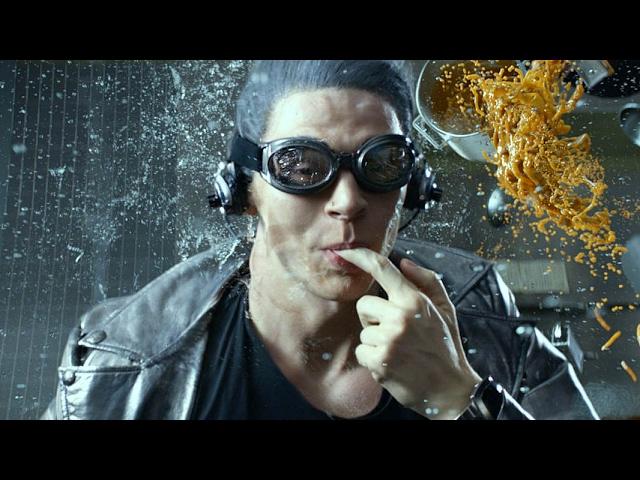 """QuickSilver Scene """"Kitchen"""" - X-Men: Days Of Future Past (2014) Movie Clip HD thumbnail"""