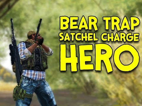 BEAR TRAP HERO! - Arma 2: DayZ Mod - Ep.7