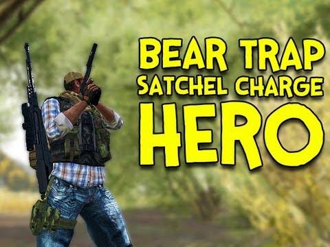 BEAR TRAP HERO! - Arma 2: DayZ Mod - Ep.7