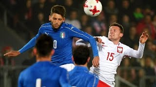 Highlights Under 21: Polonia-Italia 1-2 (23 marzo 2017)
