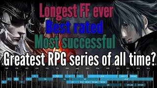 THE MOST SUCCESSFUL FINAL FANTASY GAME? 30th anniversary facts (FF1 - FF15)