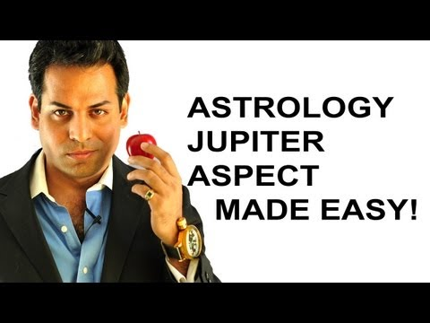 Astrology lesson 4: Astrology aspects made easy (What are astrology aspects) JUPITER