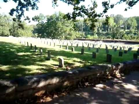 Duane Allman&Berry Oakley's Graves at Rose Hill Cemetery in Macon, Georgia on Sep. 22, 2008