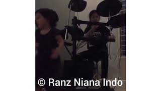 Something just like this (drum cover) #thecainsmokers   Niana Guerrero and Natalia Guerrero