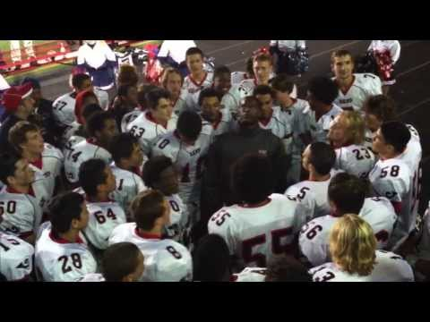 Wilson ram High School Pride 2013 - Varsity Football Team Win Celebration... video