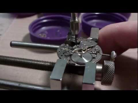 How I assemble a wrist watch, Bulova 10 BUC, Part 1 of 2