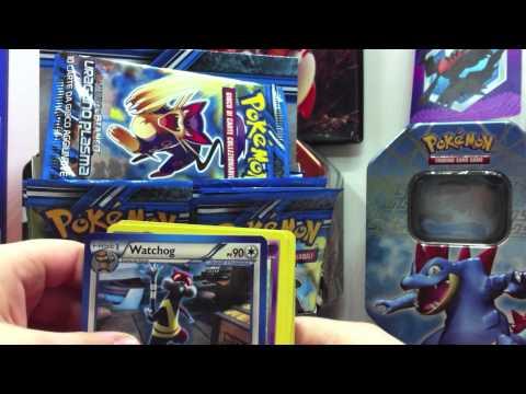 Apertura box 36 pacchetti carte pokemon uragano plasma con ex 1 parte youtube - Carte pokemon team plasma ...