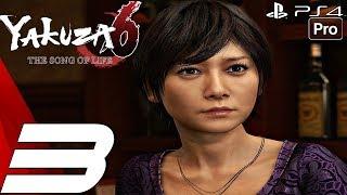 YAKUZA 6 - Gameplay Walkthrough Part 3 - Ed Boss Fight & Haruka's Accident (PS4 PRO)