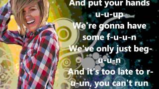 welcome to the show by Britt nicole lyrics