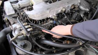 1986 to 1993 Mercedes Diesel Injection Pump Fuel Leaks: Common Problem / Easy Fix