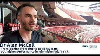 FIFA Medical Network: Dr Alan McCall