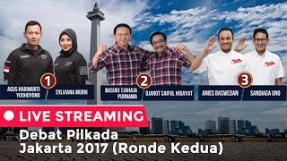 Debat Pilkada Jakarta 2017 Ronde Kedua
