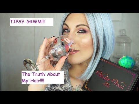 TIPSY GRWM!! | Truth About My Hair| Collab