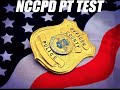 New Castle County Division of Police initial Physical Fitness Test