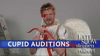 Liam Neeson's Cupid Audition