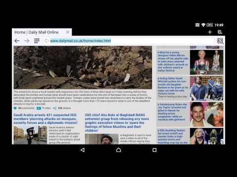 Change Browser User Agent To View Desktop Websites