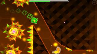 """Geometry Dash"" Demon lvl - B L A Z E"