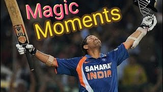 Top 10 Magic Moments In Indian Cricket History !