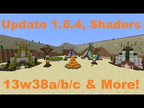 Minecraft Weekly News: Update 1.6.4 Crazy Shaders A Western Adventure