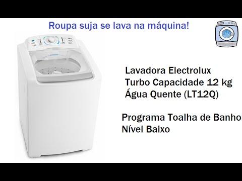 Lavadora Electrolux Turbo Capacidade 12kg - Água Quente (LT12Q)