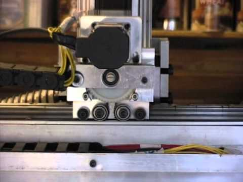 My Homebuilt Belt On Belt Drive Cnc Router Youtube
