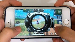 iPhone 5s - PUBG First Person Sanhok Gameplay