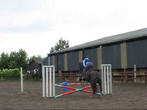 Horse riding Jumping