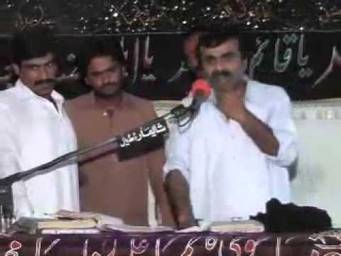 Zakir Qazi Waseem Abbas  New Qasida  2014  Zameen Tay Arbo Ajam Di Malka  video