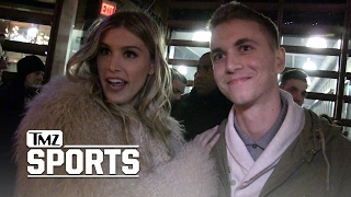 GENIE BOUCHARD AGREES TO 2ND DATE with Super Bowl Bet Guy | TMZ Sports