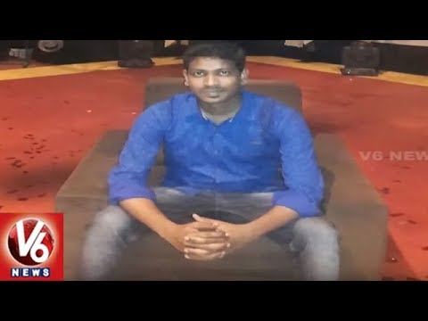 Character Artist Hari In Red Sandalwood Smuggling Case | Tirupati | V6 News