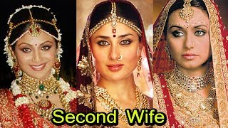 Bollywood Actress Who Became Second Wife For Money 2018