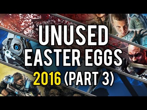 Best Unused Video Game Easter Eggs of 2016 (Part 3)
