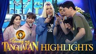 """Tawag Ng Tanghalan: The """"It's Showtime!"""" hosts call Calvin Abueva"""