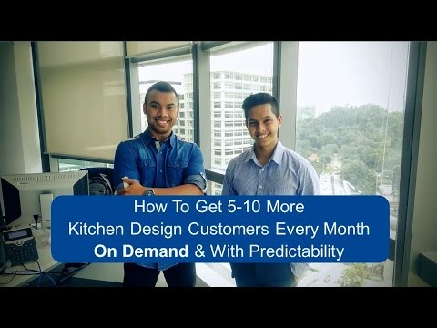 Digital Marketing for Kitchen Designers in Malaysia by Optimize Valley