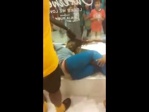 Two women fighting at the mall in Mobile, AL.