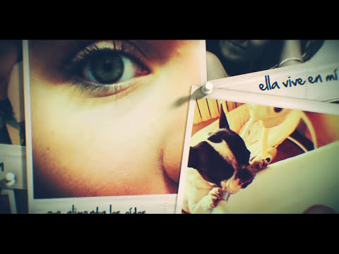 Alex Ubago - Ella vive en mi (Lyric video)