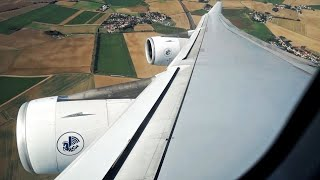 Long Takeoff - Air France A340-313 [F-GLZH] Departure from CDG to St. Maarten