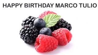 Marco Tulio   Fruits & Frutas - Happy Birthday
