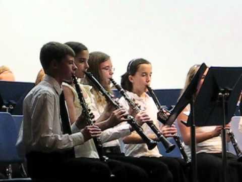 DC Everest Middle School Band Concert - 5/15/2012