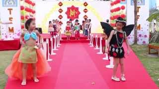 TFM Spring Fashion Show - Bieu dien thoi trang thieu nhi