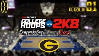 MWG -- College Hoops 2K8 -- Career Legacy, Episode 1