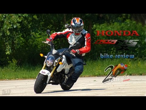 Honda MSX 125 bike review - 2WheelsEurope HD