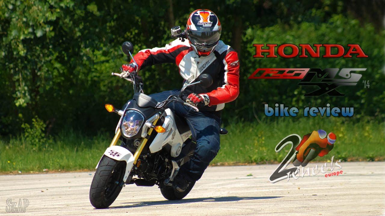 Honda MSX 125 bike review - 2WheelsEurope HD - YouTube
