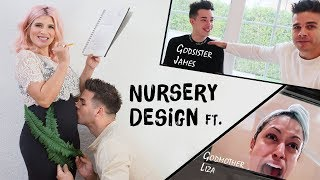 NURSERY DESIGN (ft. James Charles and Liza Koshy)
