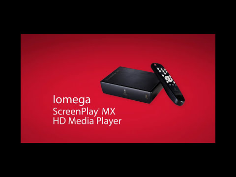 Reproductor multimedia Iomega® ScreenPlay™ MX HD