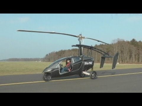 euronews hi-tech - Driven to fly: cars that can take-off