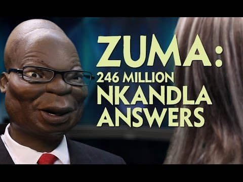 Hard Shout at The President: Debora Fingers Zuma for Nkandla Answers
