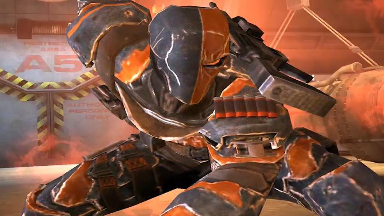 Arkham Origins Deathstroke Injustice Arkham Origins Deathstroke