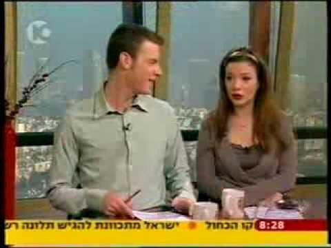 Alex Sternick in Channel 10- News- Laughter Yoga Jews-Arabs ???? ???? ????